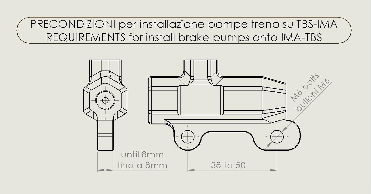 IMA Racing TBS Thumb Brake System-BASE F or B