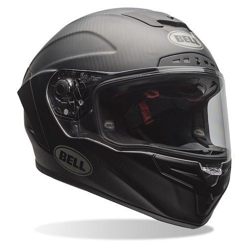 Bell Race Star DLX Carbon Fiber Flex Helmet-  Matte Black