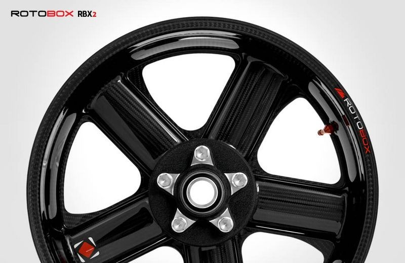 RotoBox RBX2 Carbon Fiber Wheel Set - Suzuki GSX-R1000 2017