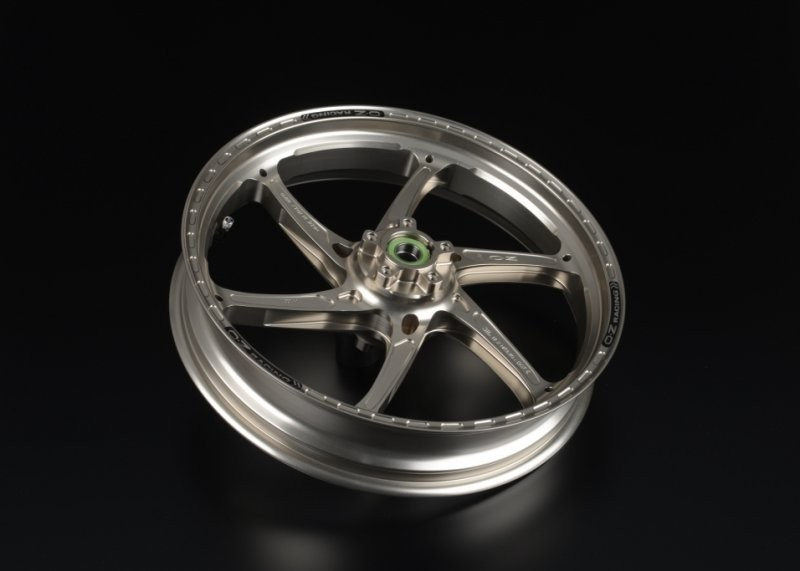 OZ Motorbike GASS RS-A Forged Aluminum Wheel Set 2008-10 Suzuki GSX-R600 / 750