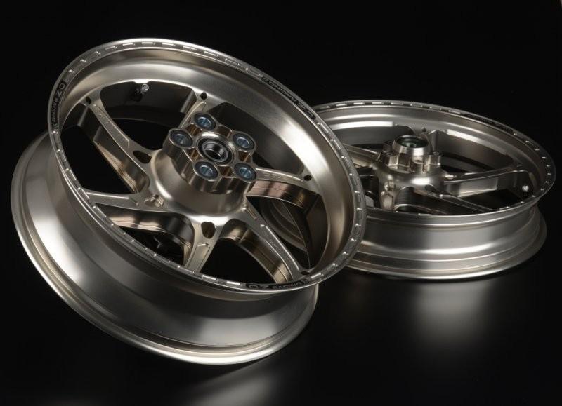 OZ Motorbike GASS RS-A Forged Aluminum Wheel Set 2017-18 Yamaha YZF-R6
