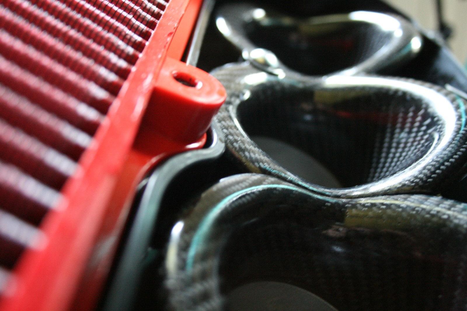 2016-20 Kawasaki ZX-10R / ZX-10RR Carbon Fiber Velocity Stack / Bellmouth Kit - MotoMaxx