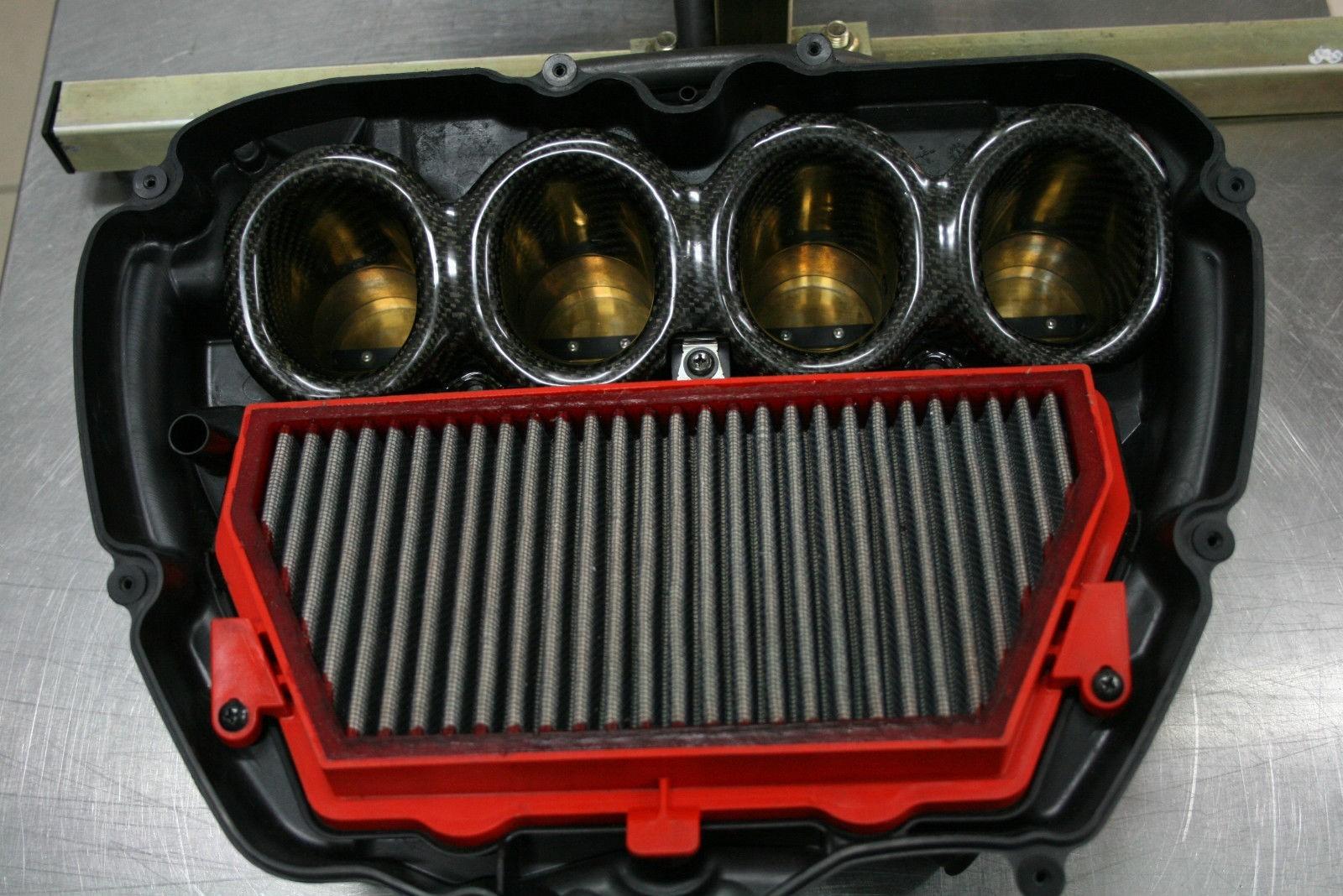 2008-16 Honda CBR1000RR Carbon Fiber Velocity Stack / Bellmouth Kit - MotoMaxx