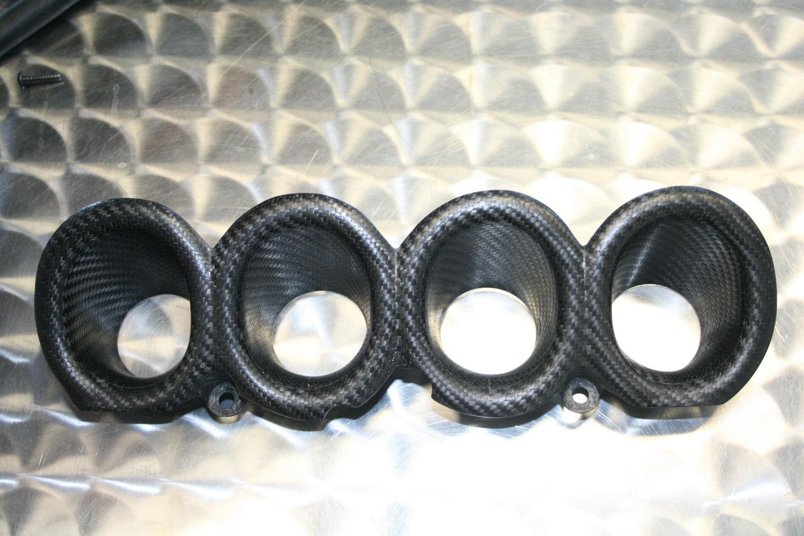 2007-16 Honda CBR600RR Carbon Fiber Velocity Stack / Bellmouth Kit - MotoMaxx