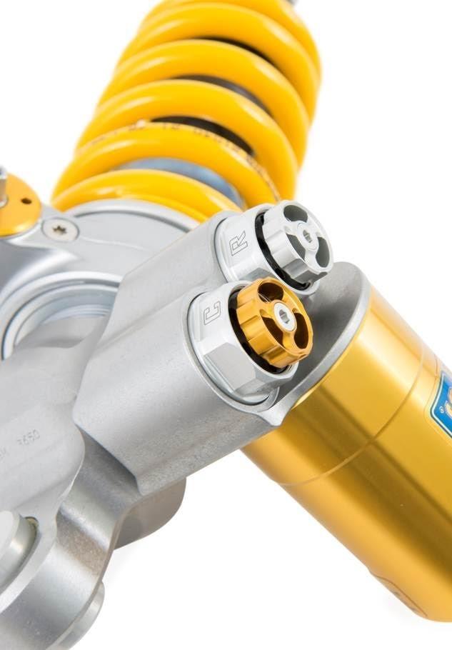 Ohlins TTX GP YA 468 Rear Shock Absorber 2015-20 Yamaha YZF-R1 / YZF-R1M / R1S