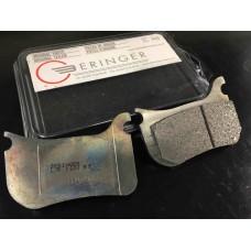 Beringer 1143R7 24H Racing Pad Set for 4R01AE / 4R11AE Radial 4 Piston Endurance Caliper