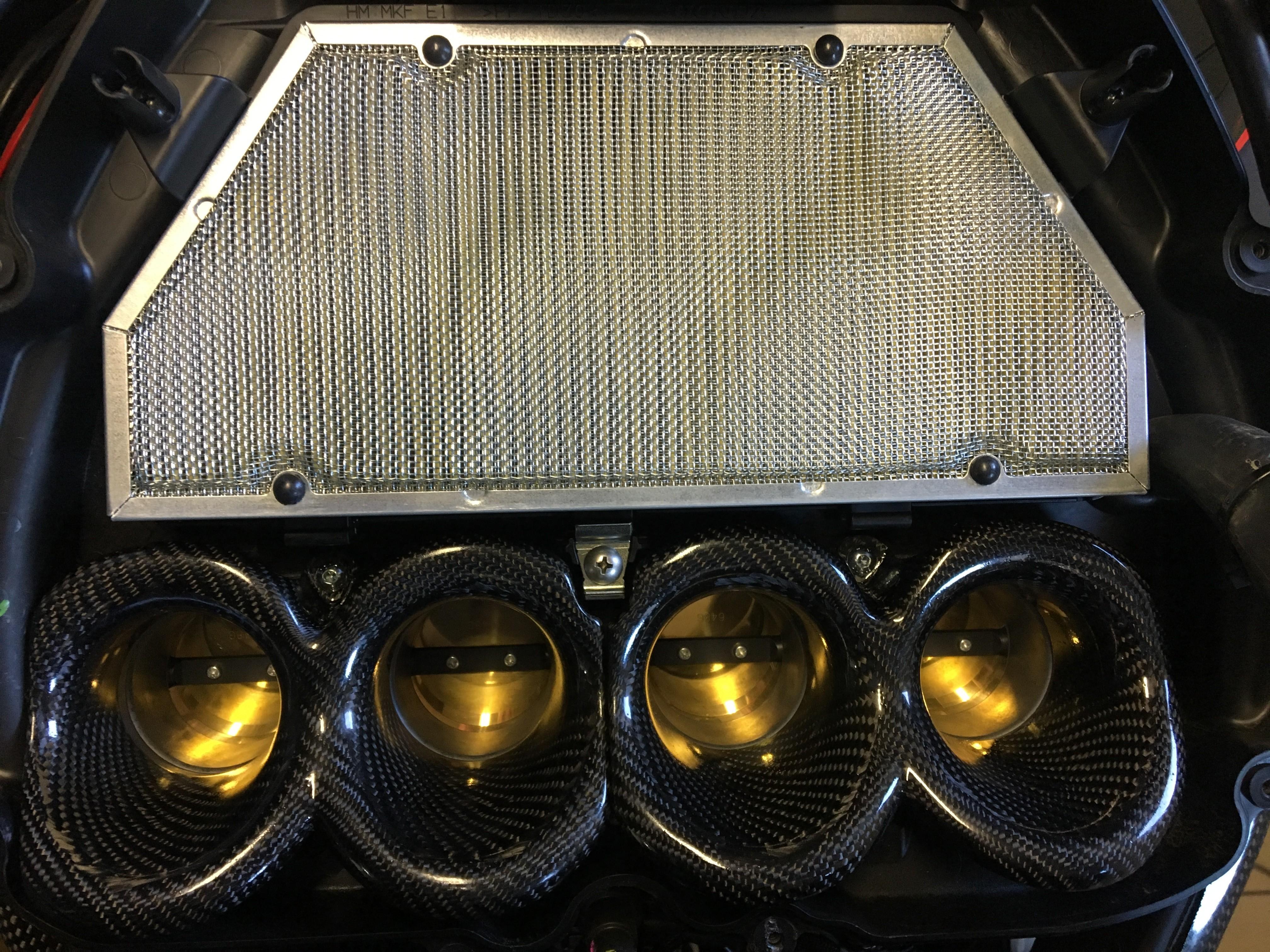 2017- Honda CBR1000RR Carbon Fiber Velocity Stack / Bellmouth Kit - MotoMaxx