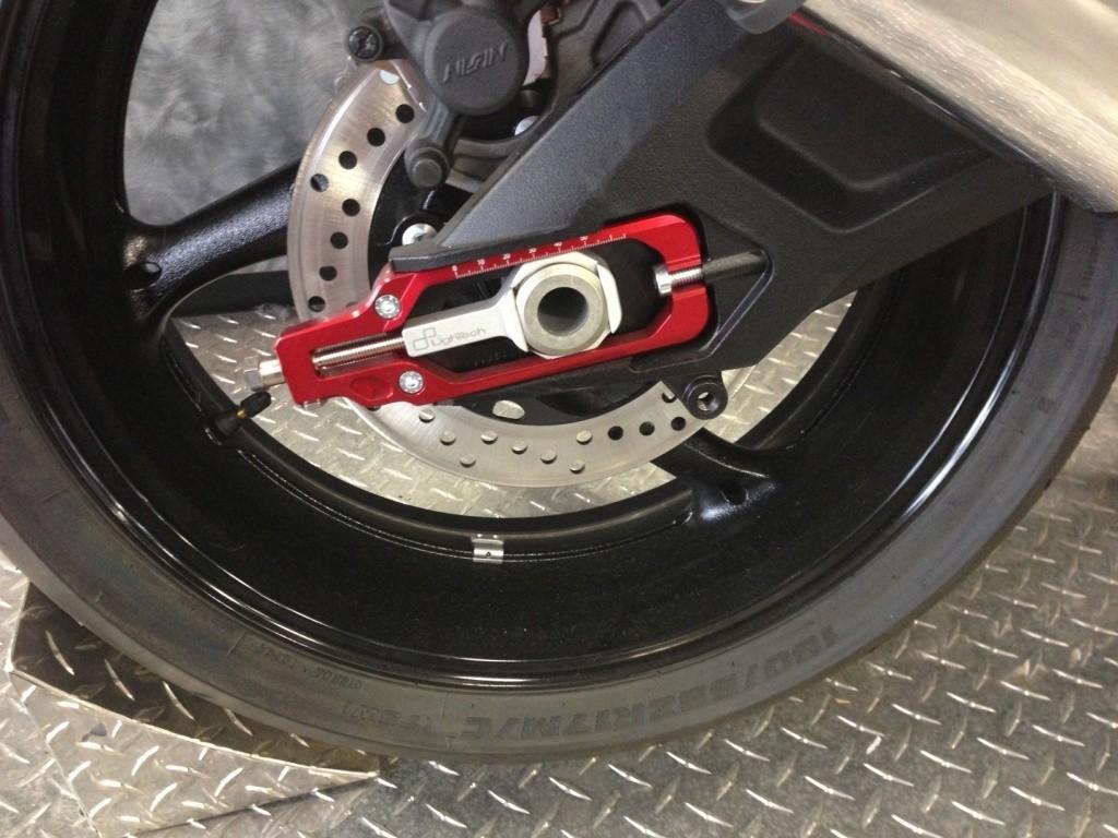 LighTech Chain Adjusters - Aprilia, BMW, Ducati, Honda, Kawasaki, Suzuki, Yamaha