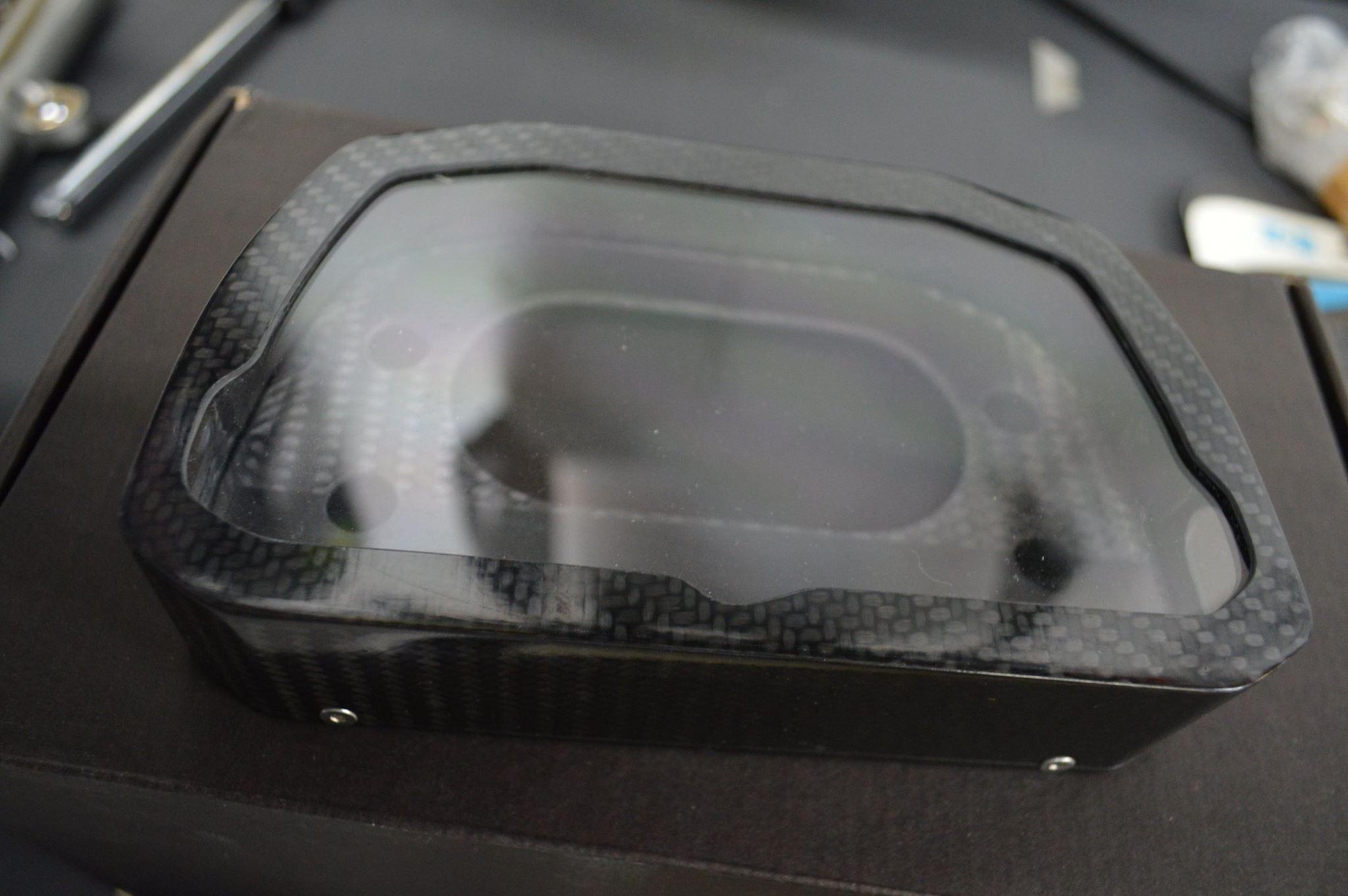 SE Composites Carbon Fiber AIM MXS Dash Protector / Case