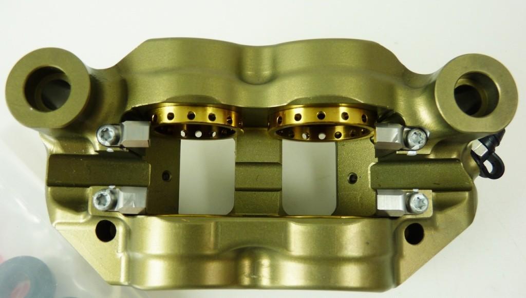 Brembo Racing P4 34/38 130mm CNC Radial Monoblock DX Brake Caliper Yamaha YZF-R1 07-14