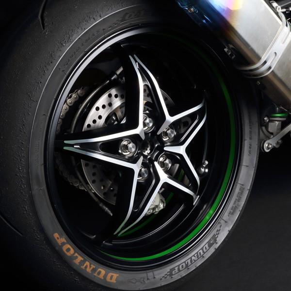Zeta Z-Titanium Wheel Nut Set Kawasaki Ninja H2/R