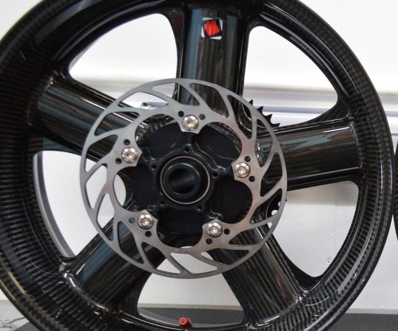 Smadmoto Rear Brake Rotor for Yamaha YZF R1 R7 98-01 YZF600R 96-04 YZF750R 93-97 XT660R//X
